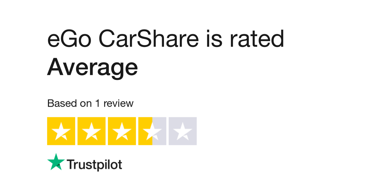 Ego Carshare Reviews Read Customer Service Reviews Of Carshare Org