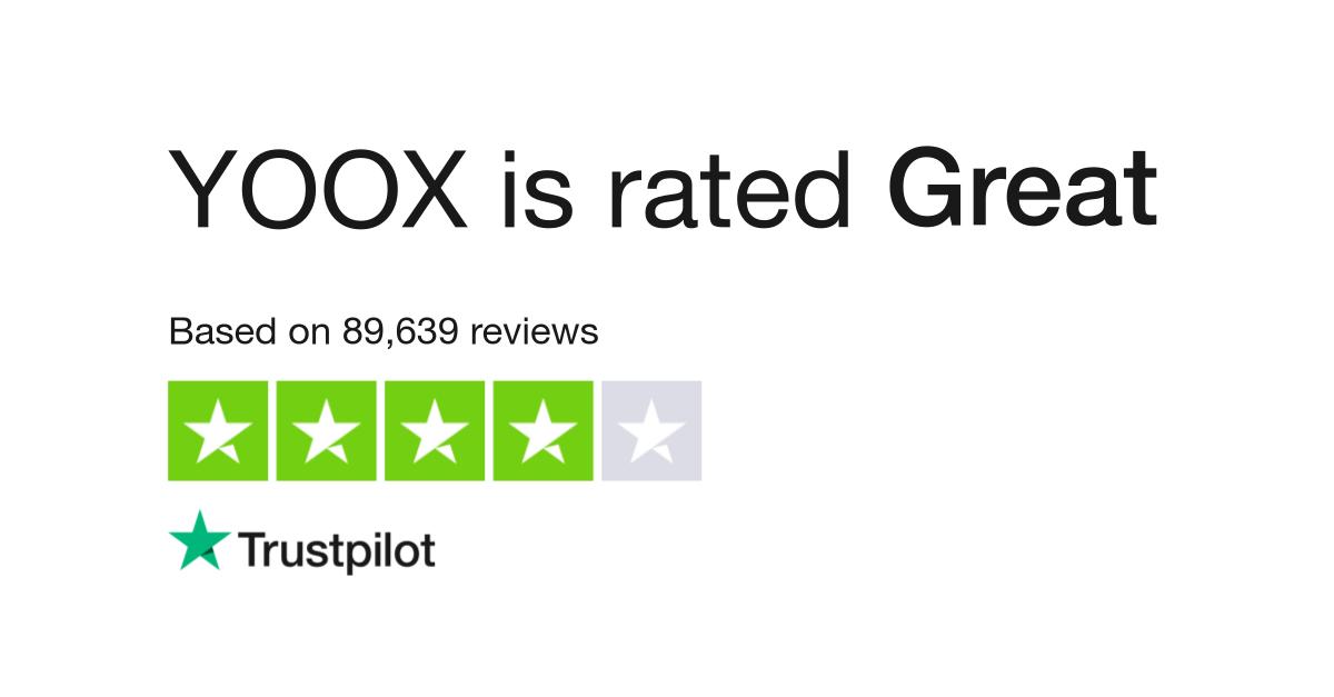 YOOX Reviews | Read Customer Service Reviews of www yoox com