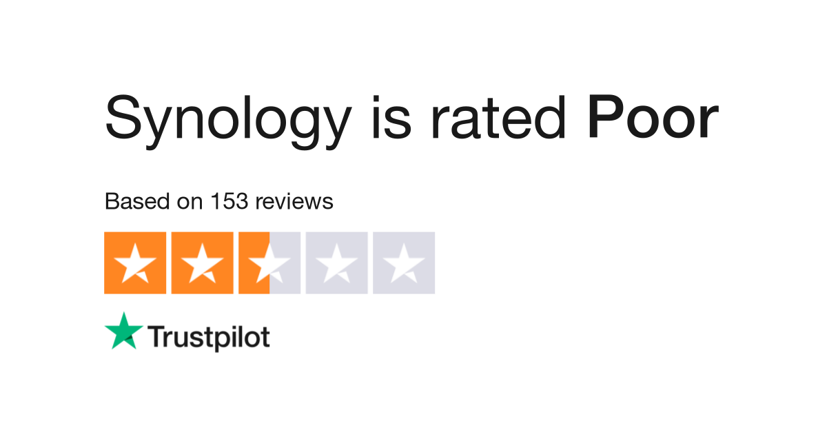 Synology Reviews | Read Customer Service Reviews of www synology com