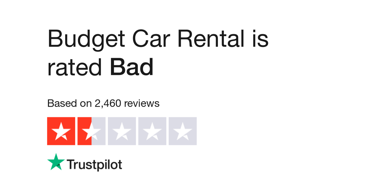 Budget Car Rental Reviews Read Customer Service Reviews Of Www
