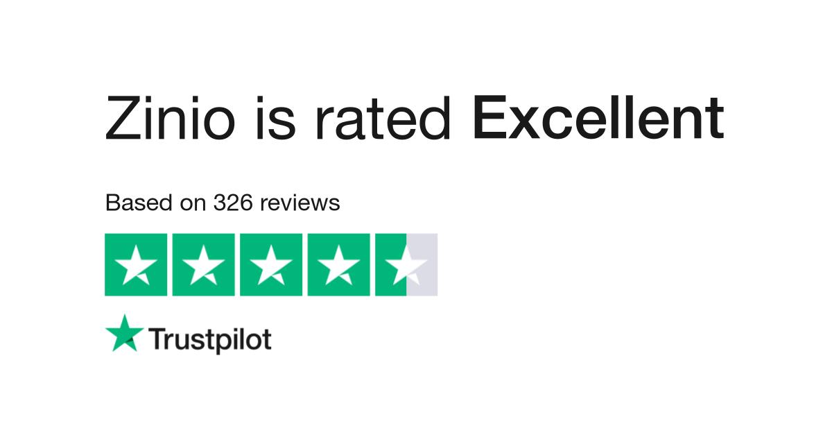 Zinio Reviews | Read Customer Service Reviews of www zinio com