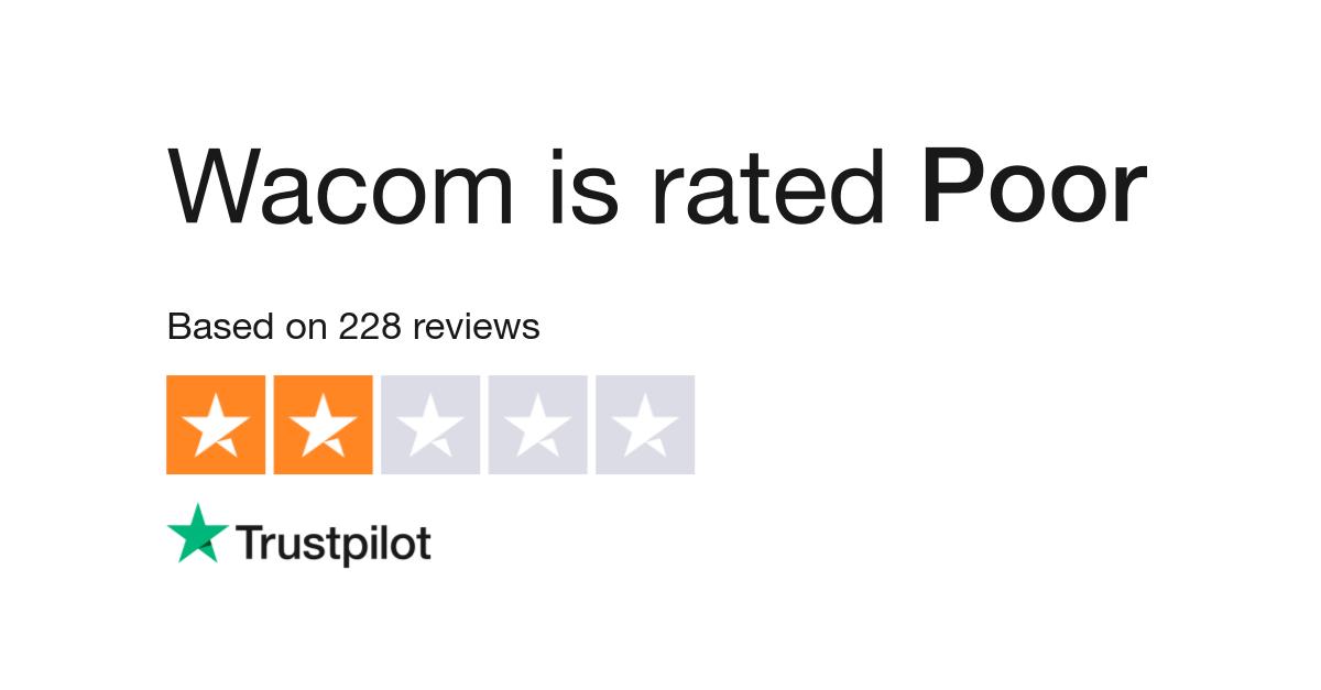 Wacom Reviews | Read Customer Service Reviews of www wacom com