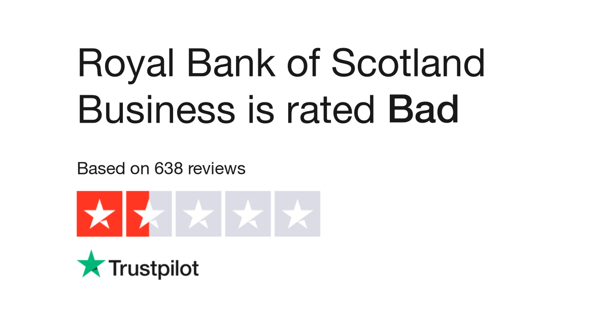 Royal Bank of Scotland Business Reviews | Read Customer Service ...
