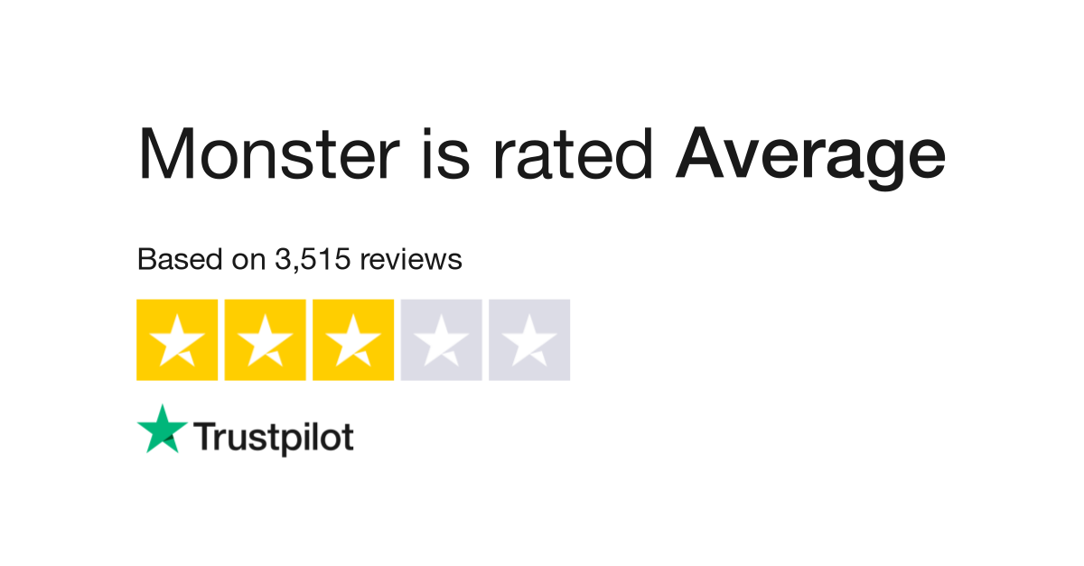 Monster Reviews | Read Customer Service Reviews of www.monster.com
