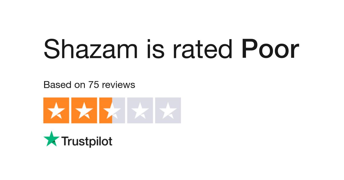 Shazam Reviews   Read Customer Service Reviews of www shazam com