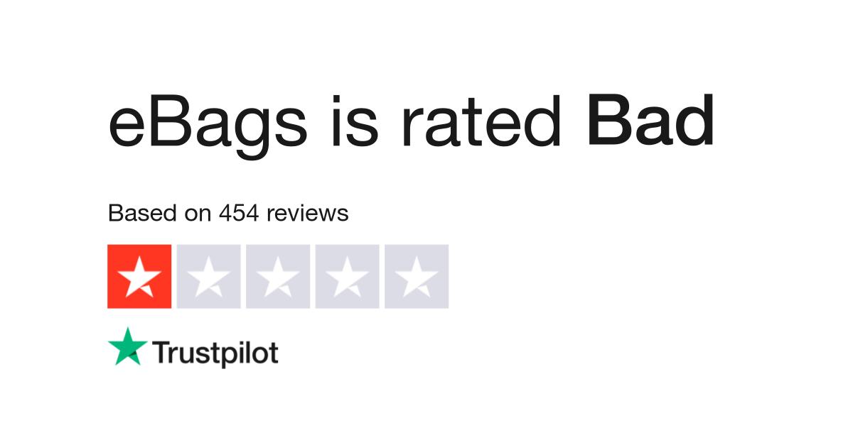 eBags Reviews | Read Customer Service Reviews of www ebags com