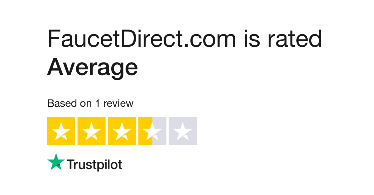 FaucetDirect.com Reviews | Read Customer Service Reviews of www ...