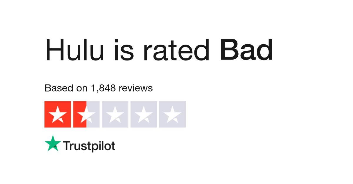 Hulu Reviews | Read Customer Service Reviews of www hulu com
