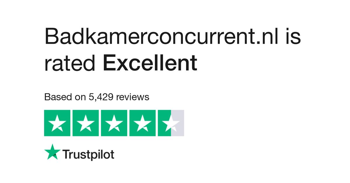 Badkamerconcurrent.nl Reviews | Read Customer Service Reviews of www ...