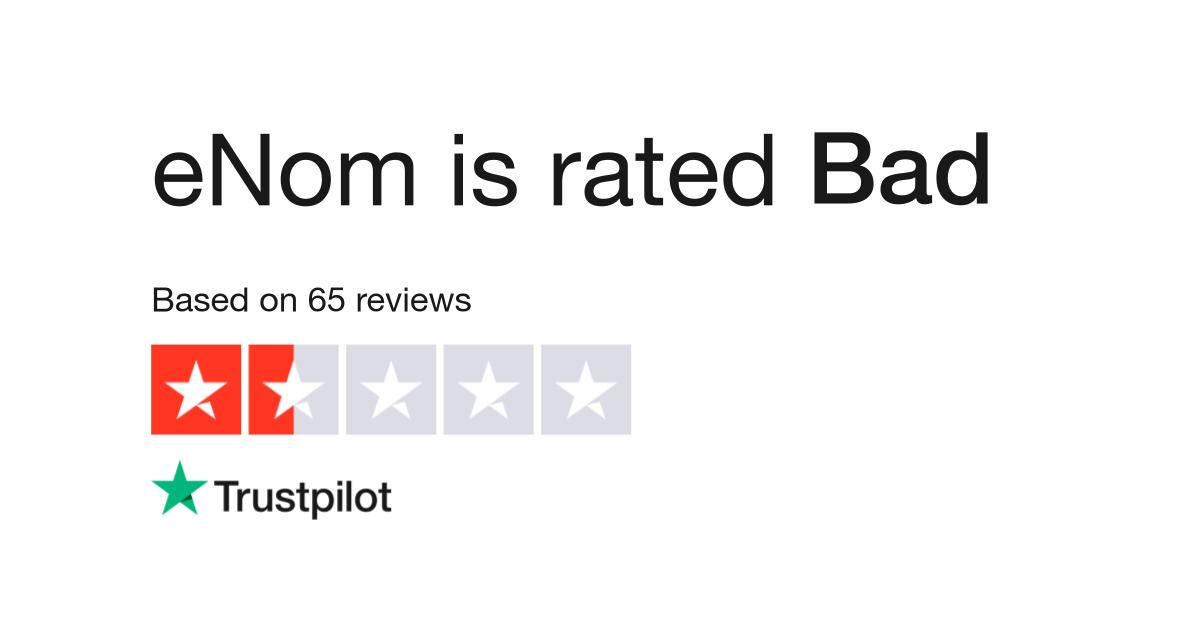 eNom Reviews | Read Customer Service Reviews of www enom com