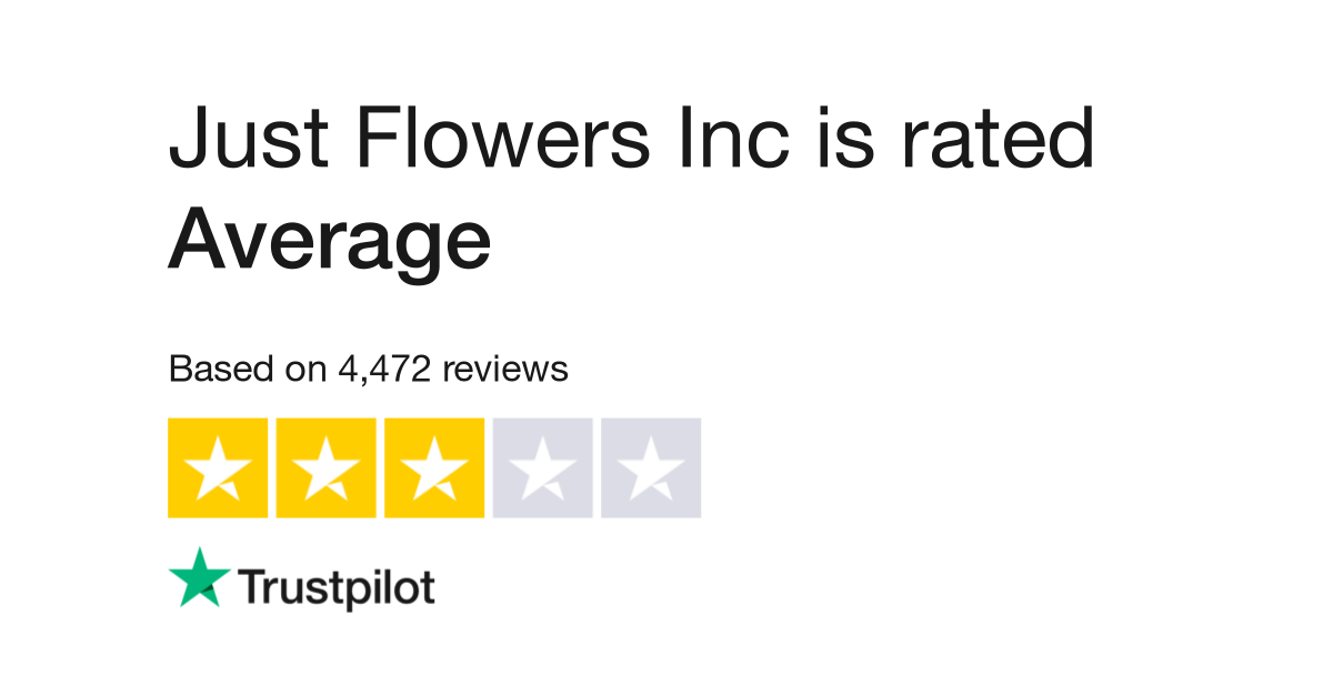 Just Flowers Inc Reviews | Read Customer Service Reviews of www.justflowers .com