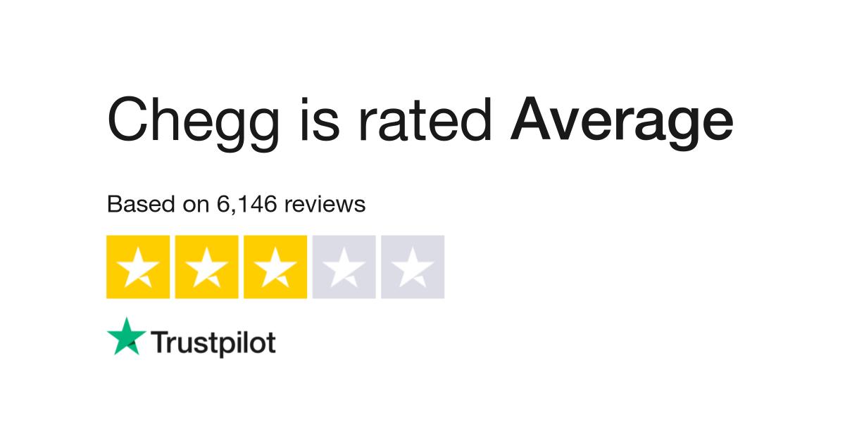 Chegg Reviews | Read Customer Service Reviews of www chegg com