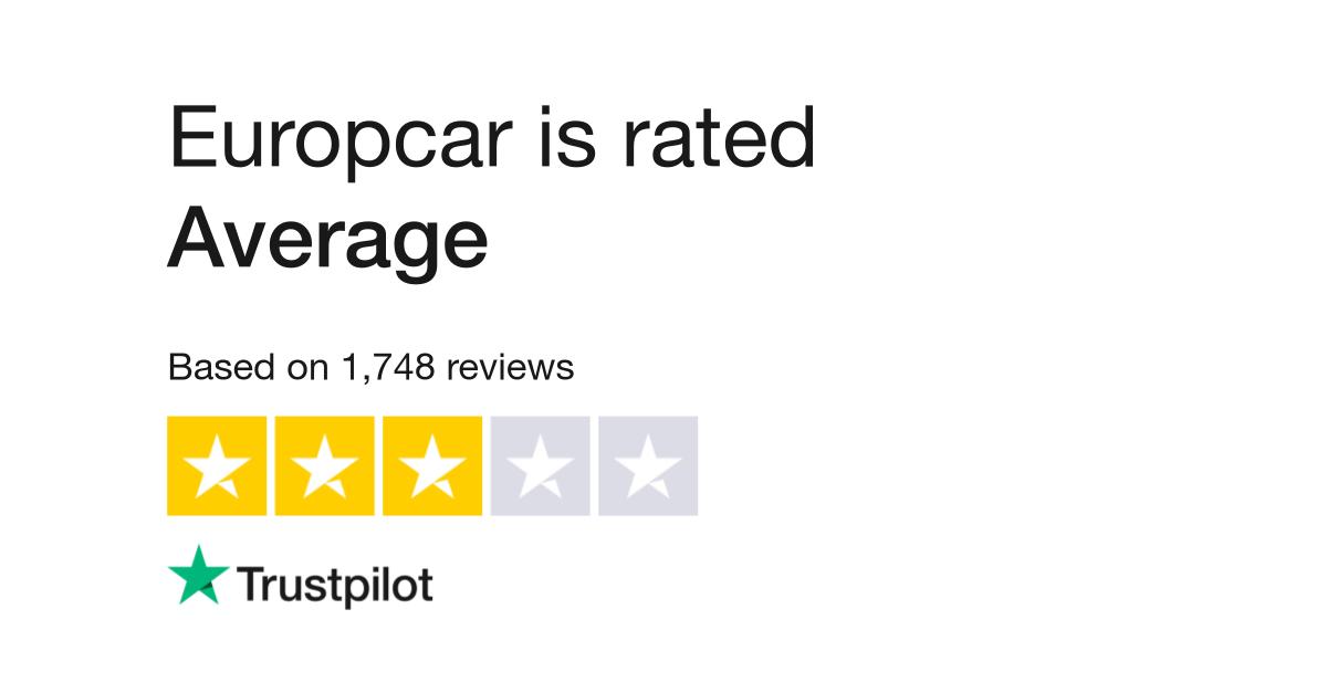 Europcar Reviews Read Customer Service Reviews Of Www Europcar Com