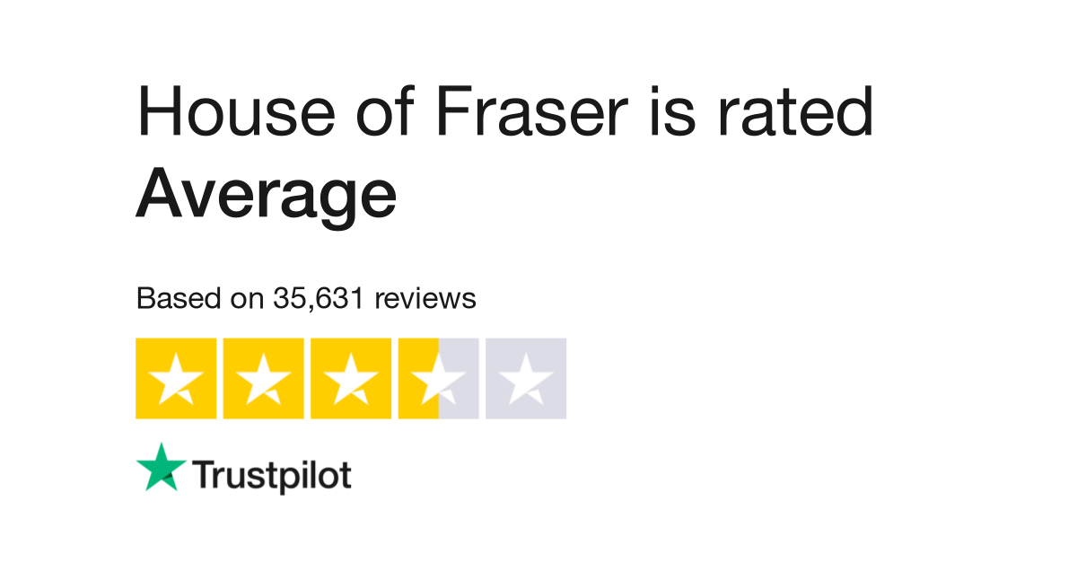 House of Fraser Reviews | Read Customer Service Reviews of