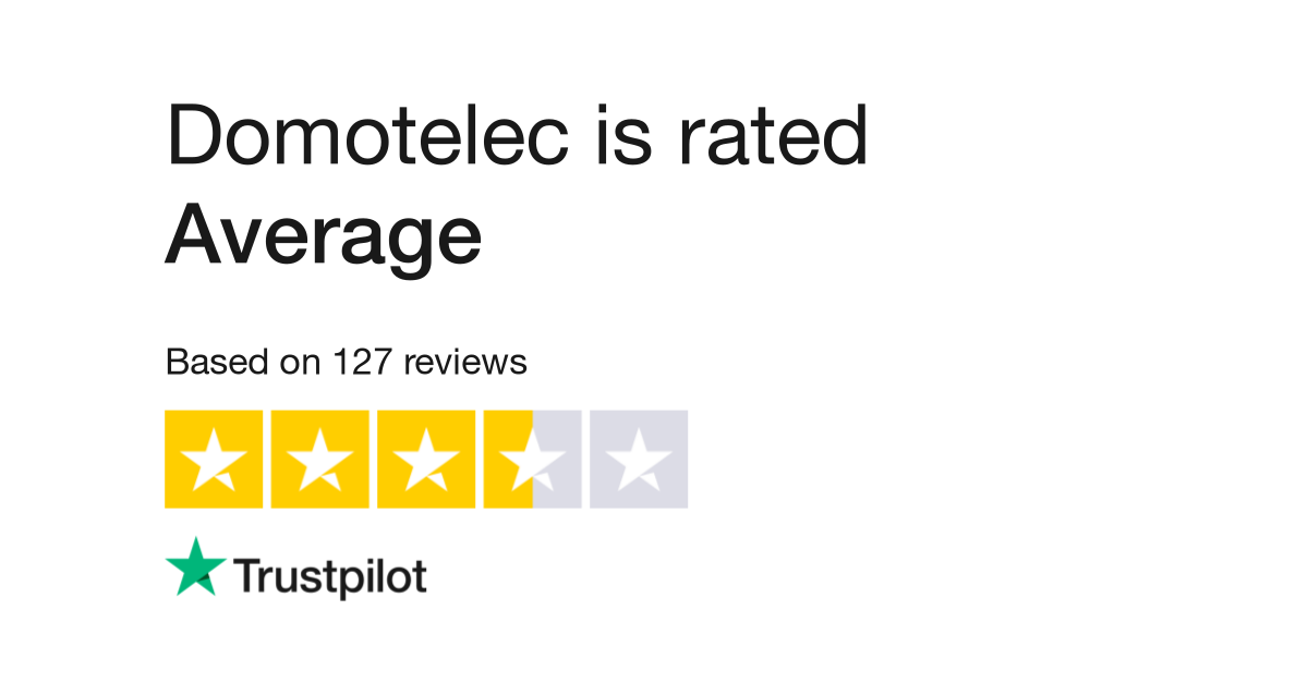 Domotelec Reviews Read Customer Service Reviews Of Www Domotelec Fr