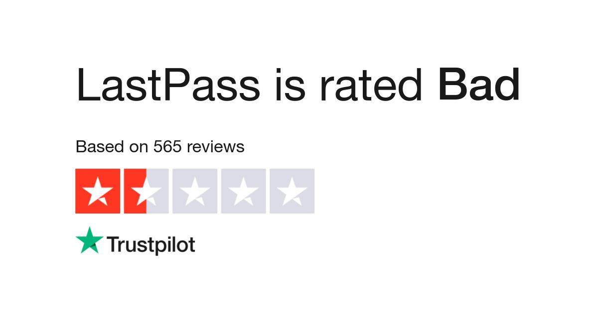 LastPass Reviews | Read Customer Service Reviews of www lastpass com