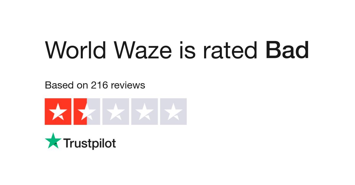 Waze Reviews | Read Customer Service Reviews of www world