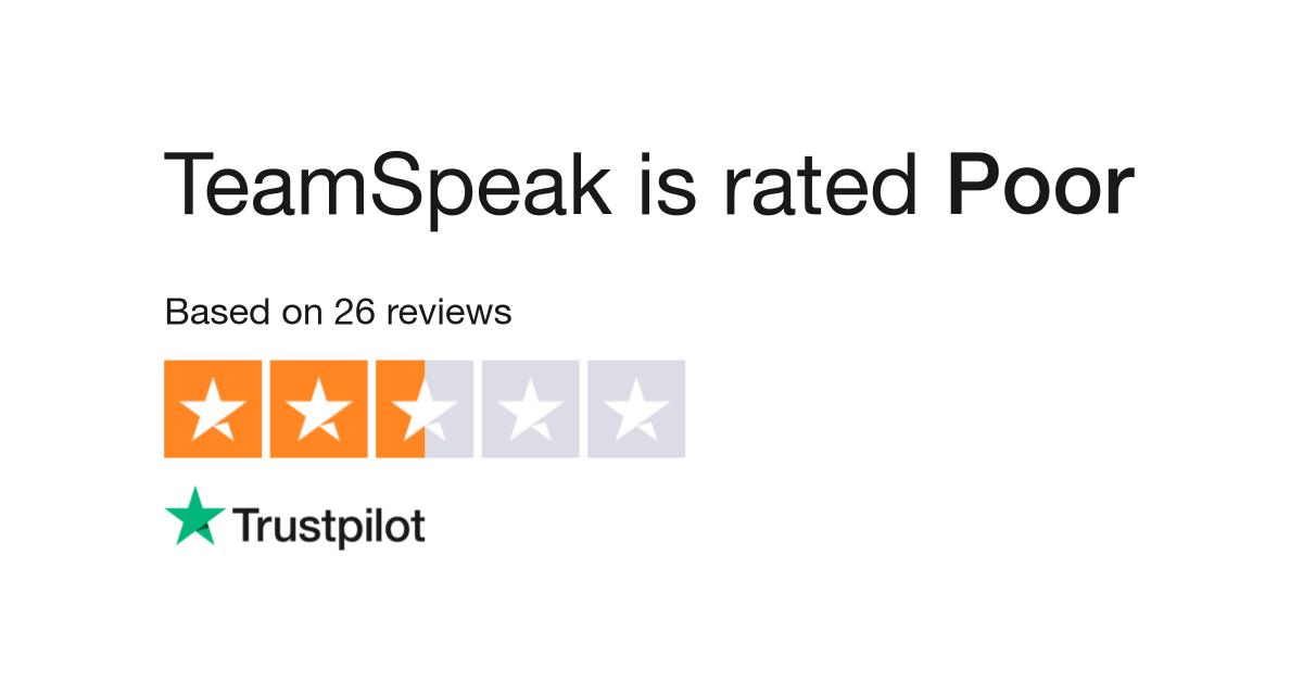 TeamSpeak Reviews | Read Customer Service Reviews of www