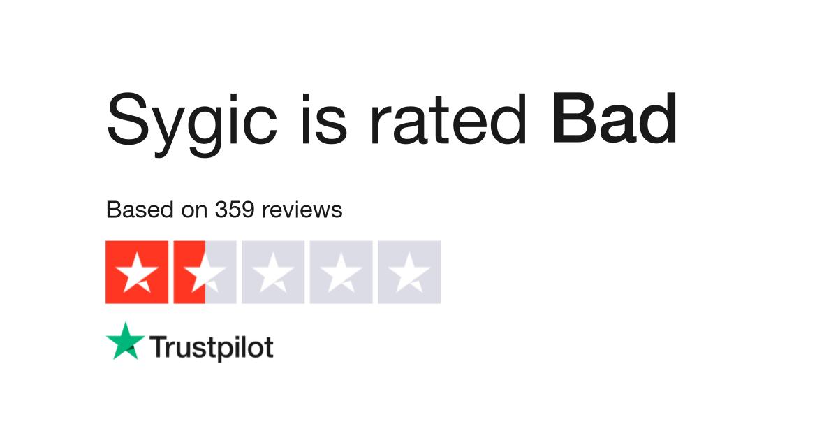Sygic Reviews | Read Customer Service Reviews of www sygic com