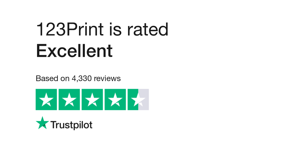 123Print Reviews | Read Customer Service Reviews of www.123print.com