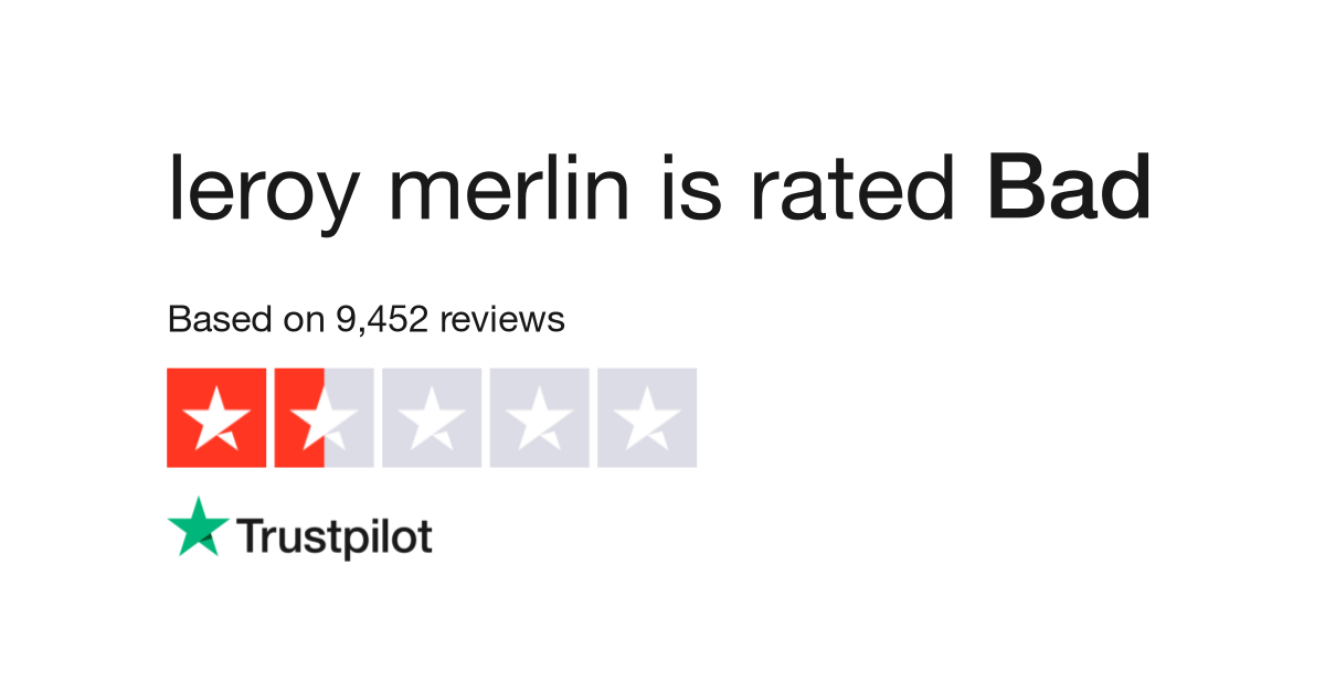 Leroy Merlin Reviews Read Customer Service Reviews Of Www