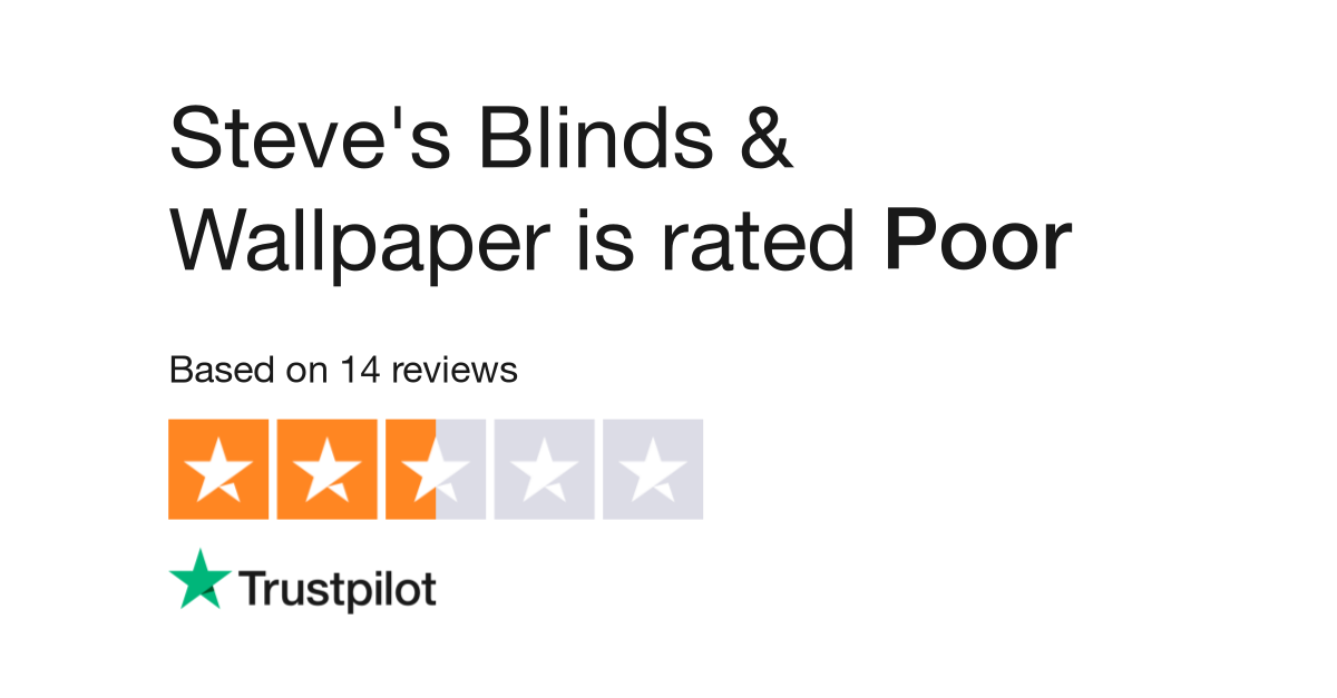 Steve's Blinds & Wallpaper Reviews