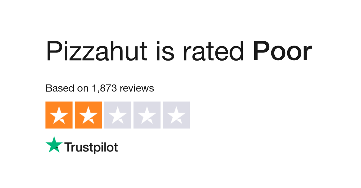 Pizzahut Reviews Read Customer Service Reviews Of Delivery