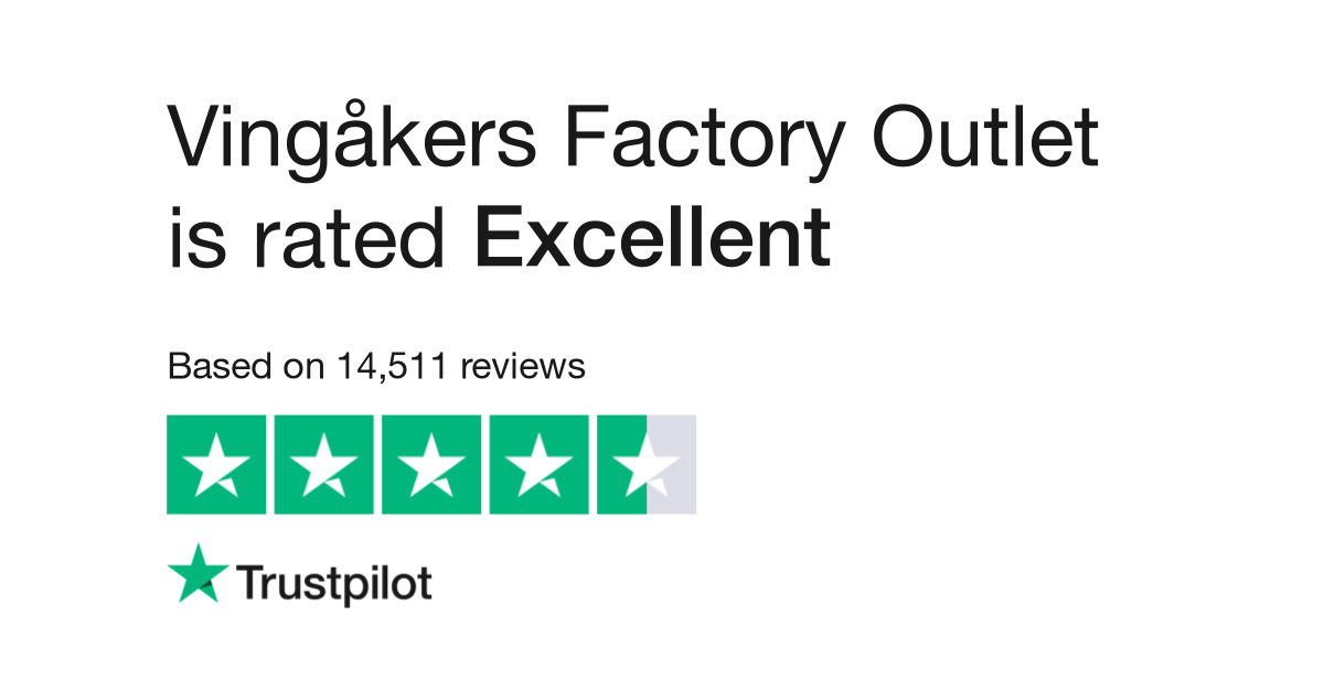 Vingåkers Factory Outlet Reviews | Read Customer Service Reviews of