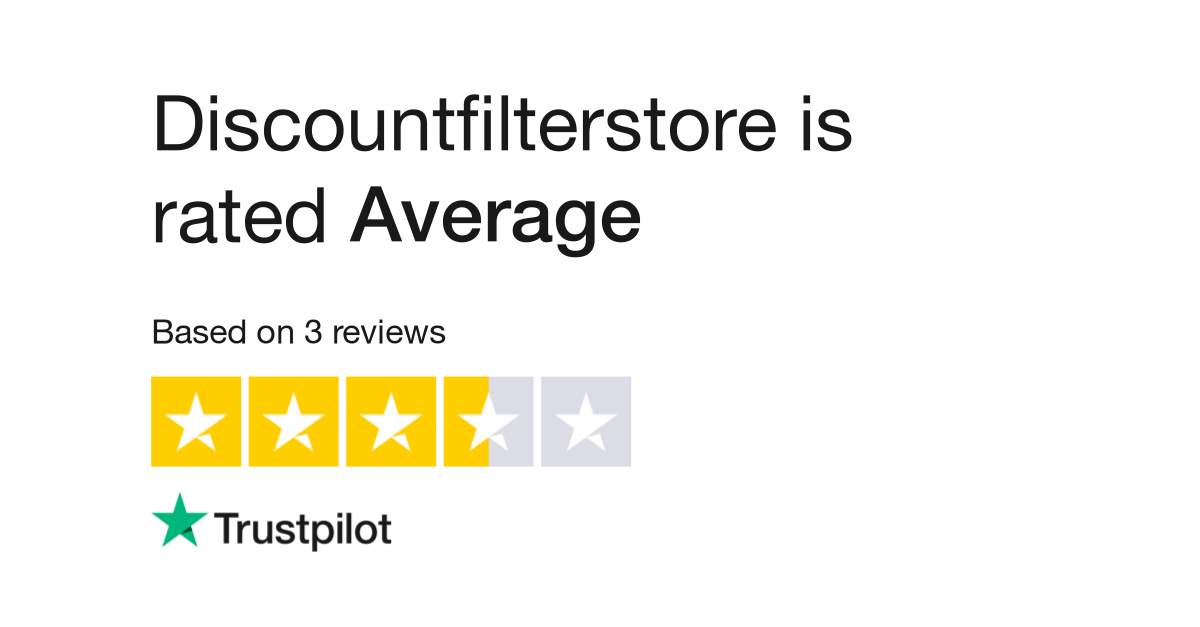 discountfilterstore reviews | read customer service reviews of  ...