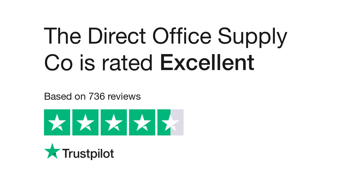 The Direct Office Supply Co Reviews Read Customer Service Of Www Directofficesupply Uk