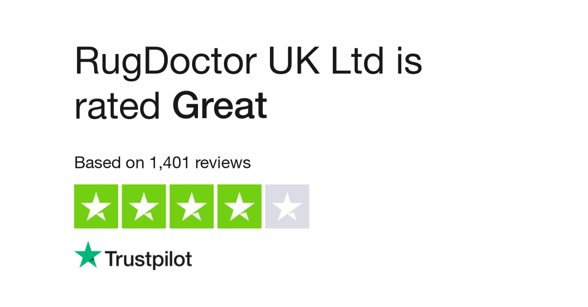 Rugdoctor Uk Ltd Reviews Read Customer Service Of Co