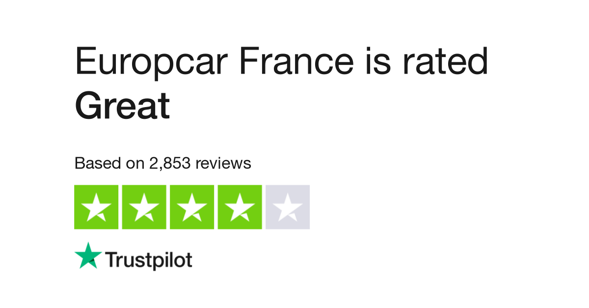 Europcar Reviews Read Customer Service Reviews Of Europcar Fr