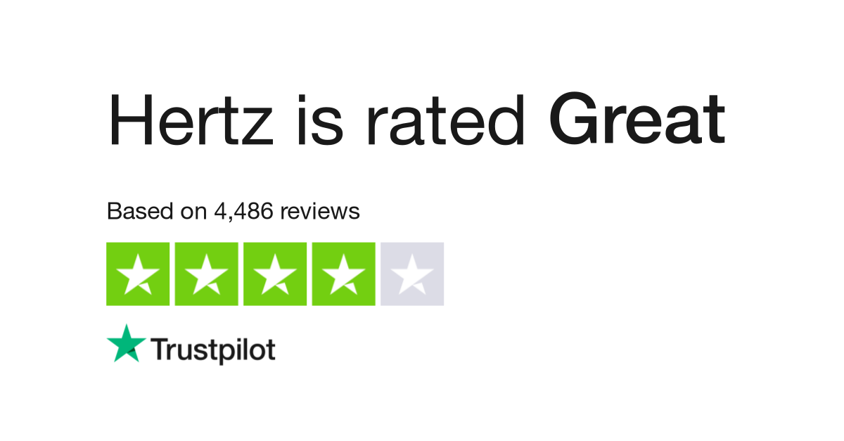 Hertz Reviews | Read Customer Service Reviews of www hertz com