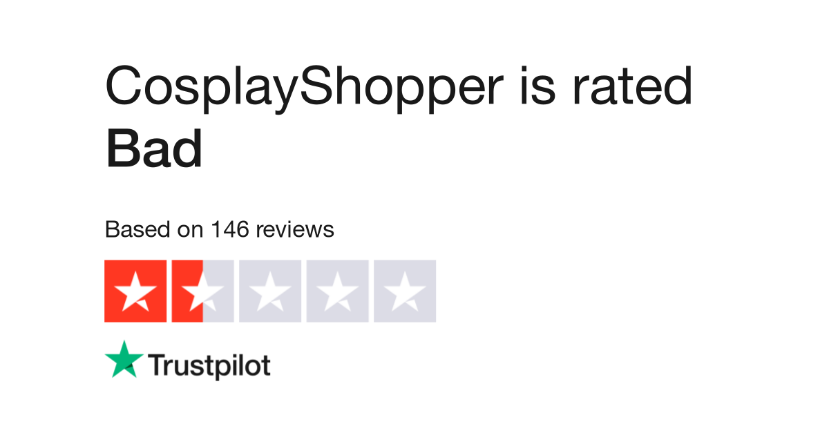 CosplayShopper Reviews | Read Customer Service Reviews of
