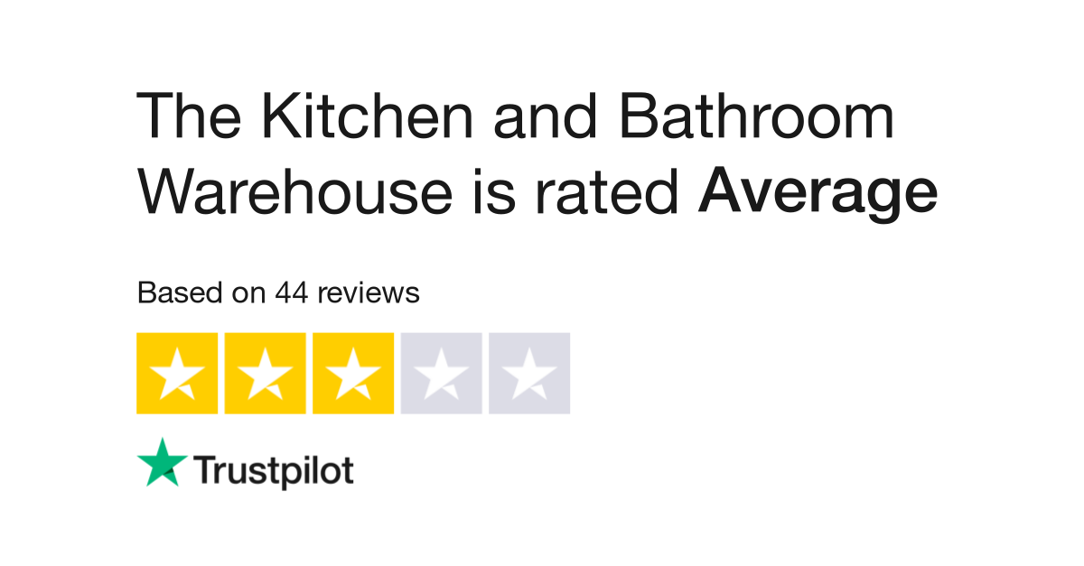 The Kitchen and Bathroom Warehouse Reviews | Read Customer Service ...