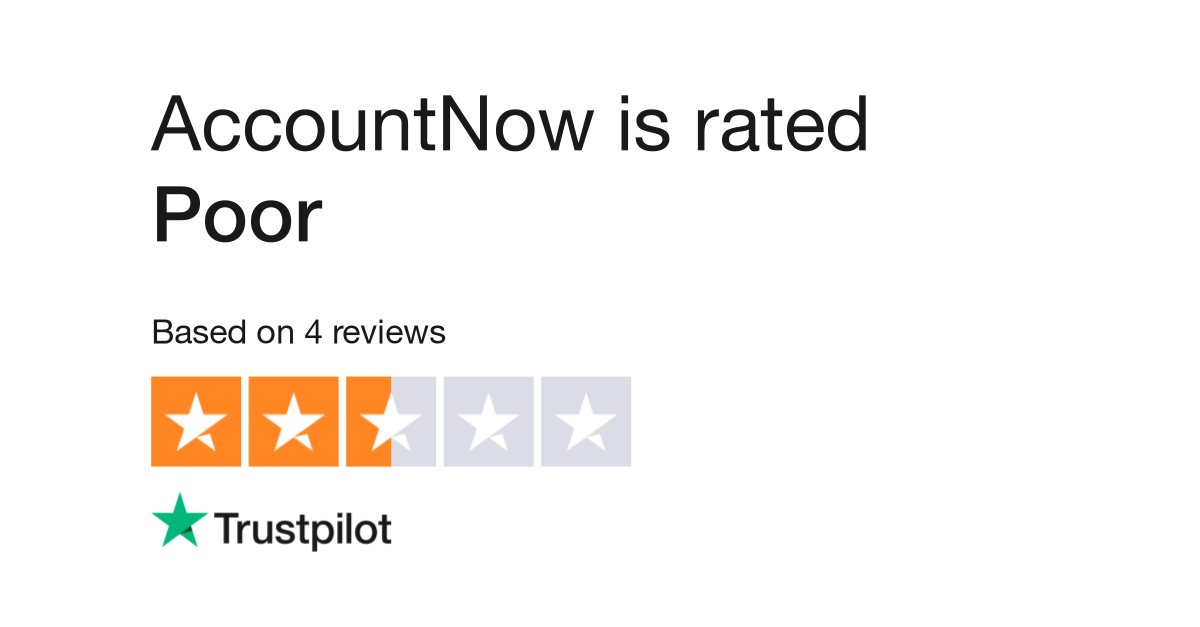 AccountNow Reviews | Read Customer Service Reviews of accountnow com