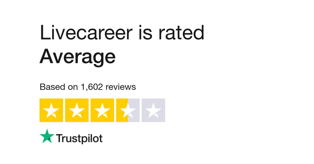 livecareer reviews read customer service reviews of wwwlivecareercom