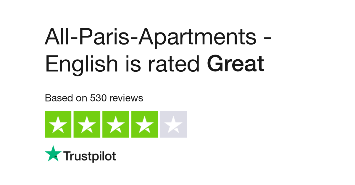 All-Paris-Apartments - English Reviews | Read Customer Service ...