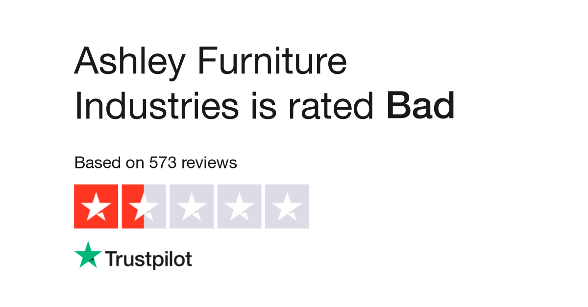 Ashley Furniture Industries Reviews Read Customer Service Of Ashleyfurniture