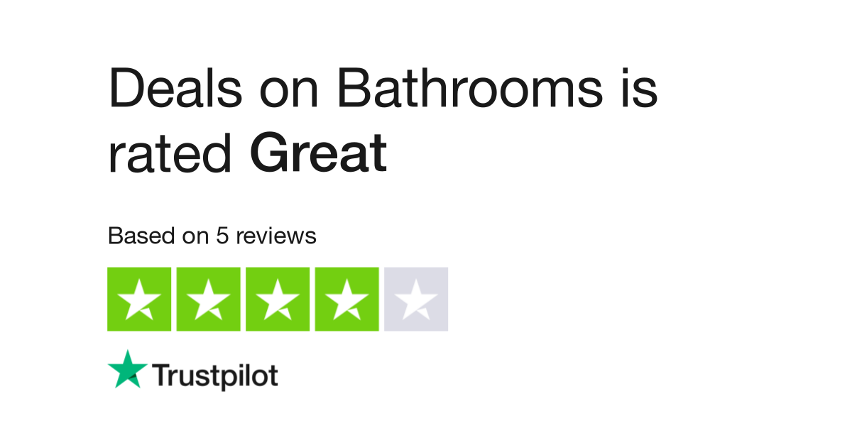 Deals on Bathrooms Reviews | Read Customer Service Reviews of www ...