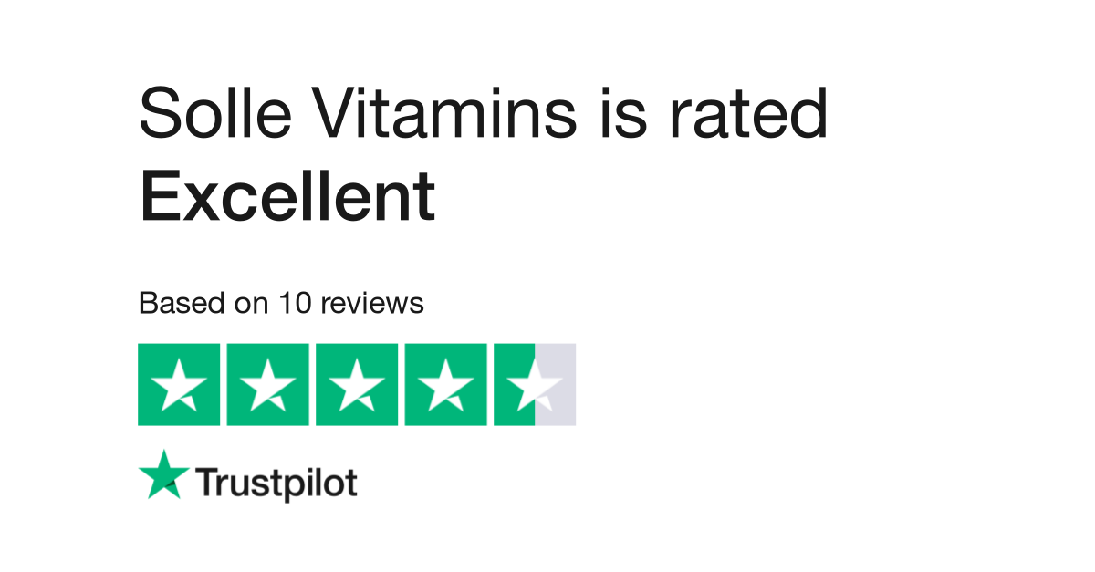 Solle Vitamins Reviews | Read Customer Service Reviews of