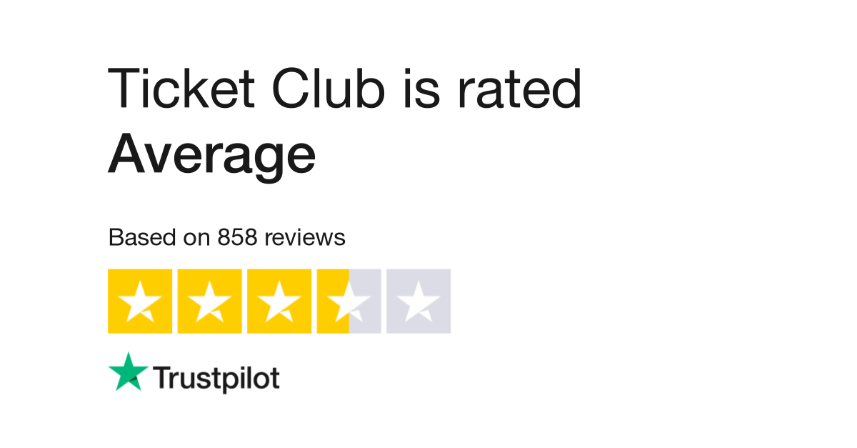 Ticket Club Reviews   Read Customer Service Reviews of www ...