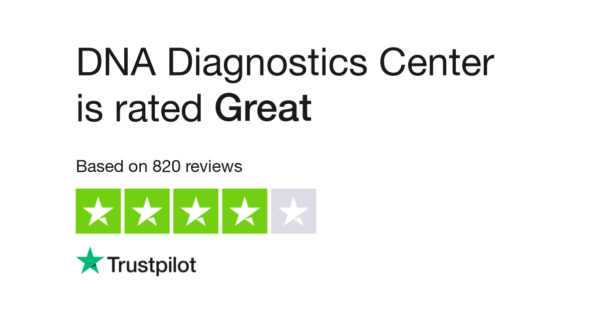 Dna Diagnostics Center Reviews Read Customer Service Reviews Of