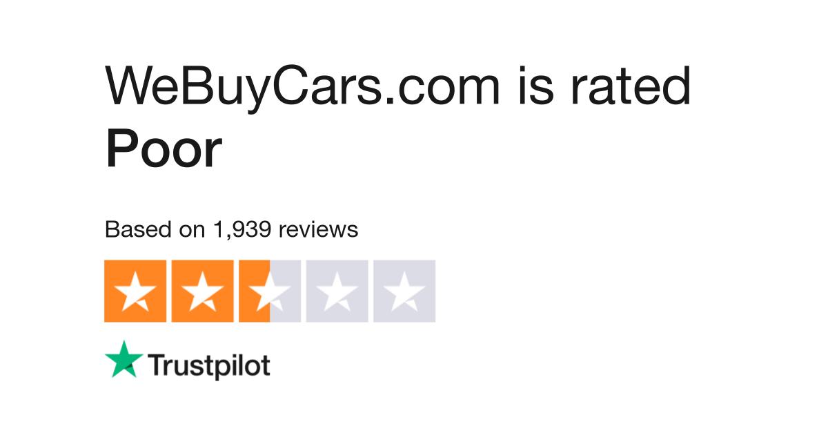 WeBuyCars.com Reviews | Read Customer Service Reviews of www ...