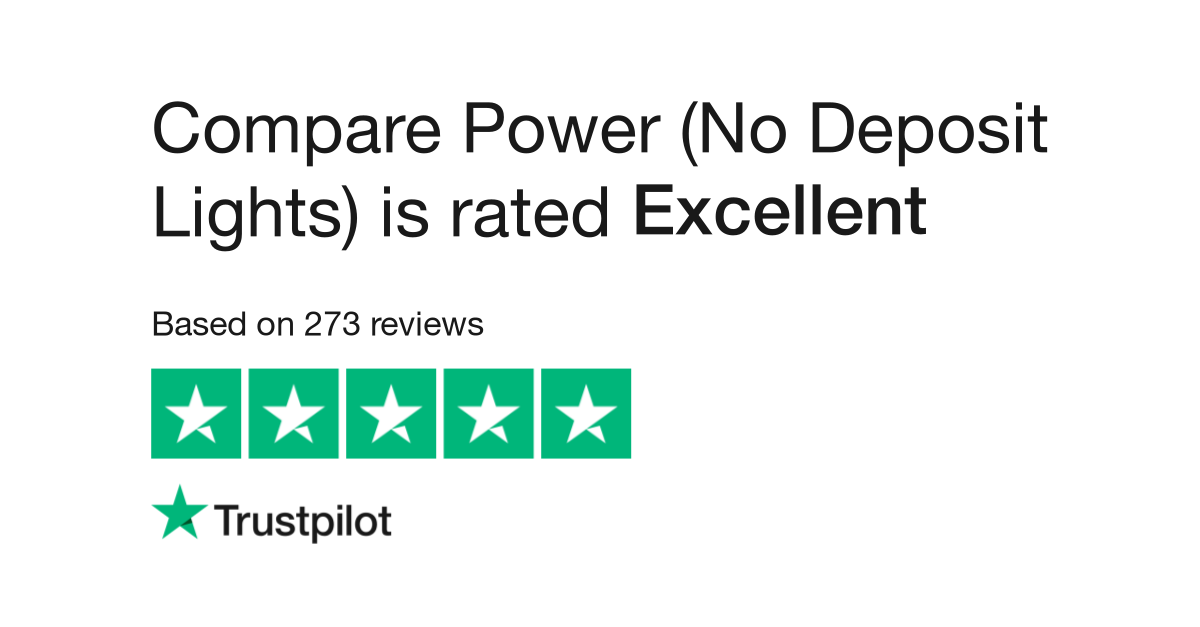 Compare Power (No Deposit Lights) Reviews | Read Customer
