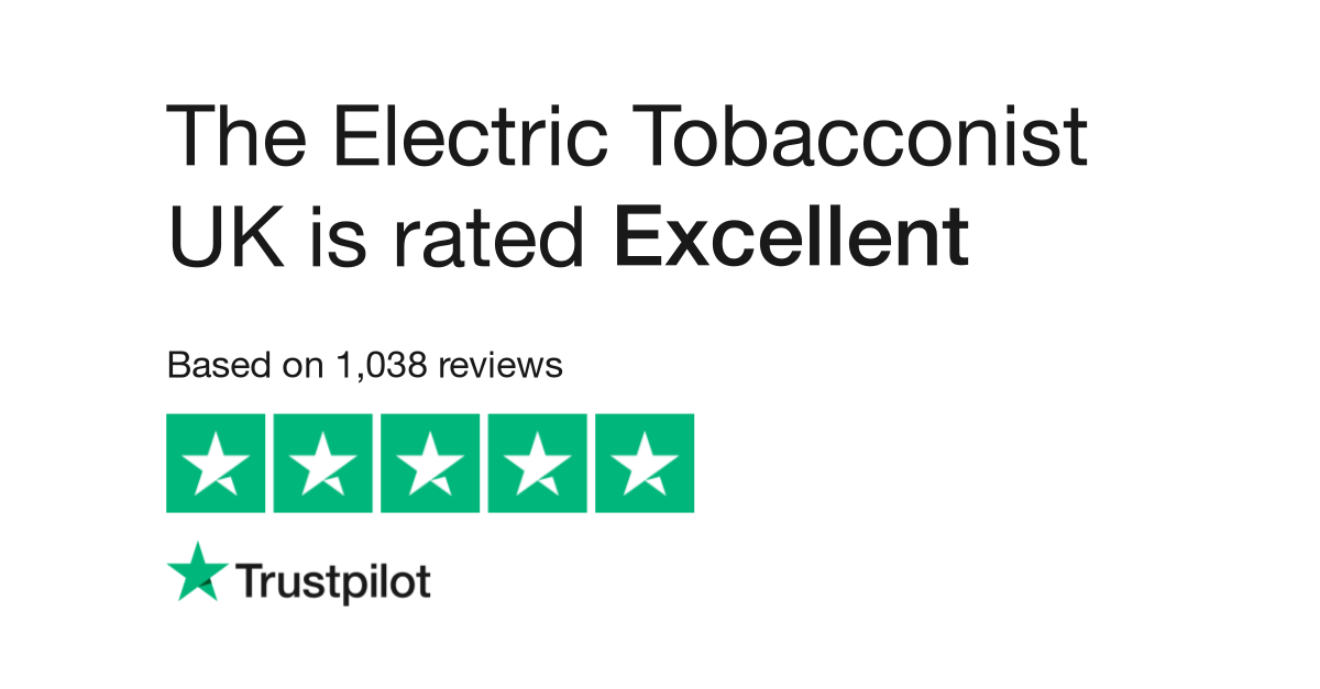 The Electric Tobacconist UK Reviews | Read Customer Service