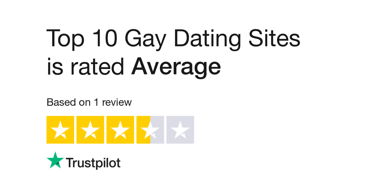 rencontres gay est si difficile