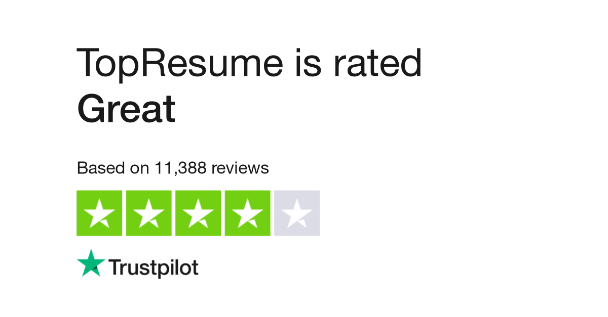 topresume reviews read customer service reviews of topresumecom - Top Resume