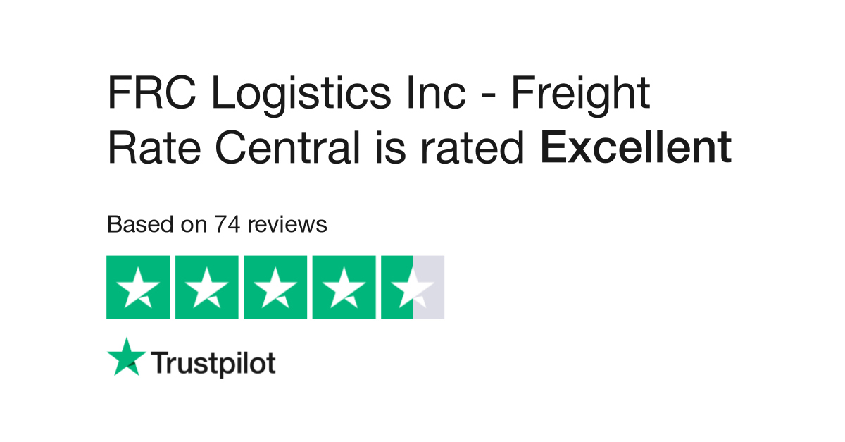 FRC Logistics Inc - Freight Rate Central Reviews | Read