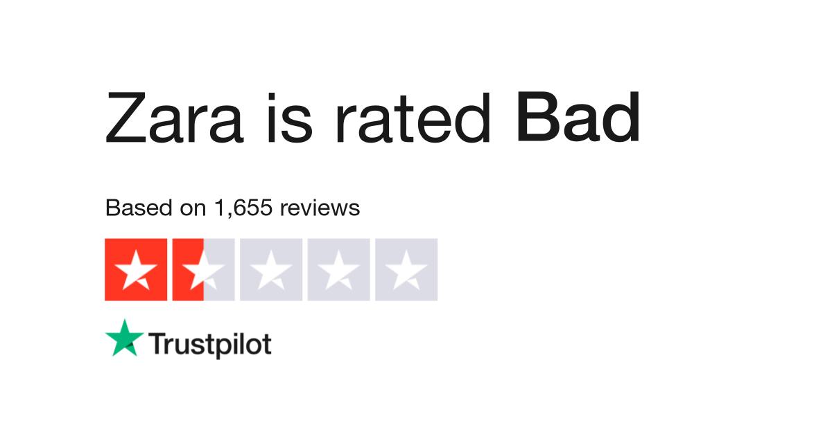 08f4077dbab3 Zara Reviews | Read Customer Service Reviews of zara.uk
